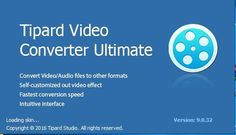 Tipard Video Converter 9 Crack Keygen & Serial Key Tipard Video Converter Ultimate Keygen is a software through which you can easily download videos from internet and convert them into any required format. If you want to play your video on different players or devices then you need to...