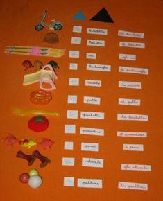 Psicogrammatica Montessori: esperienze chiave sull'articolo – Lapappadolce Montessori, Language Arts, Language