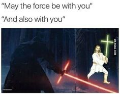 The power of the Force compels you!