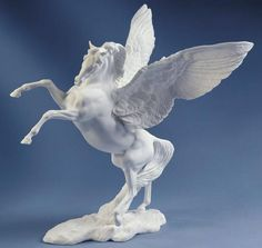 Boehm Porcelain Pegasus Sculpture