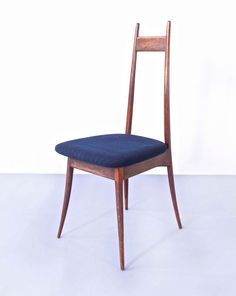 Angelo Mangiarotti; Dining Chair for Frigerio, 1959.
