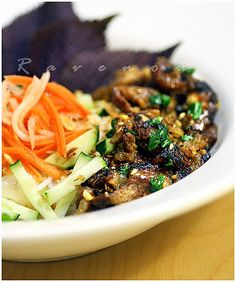 Bun Thit Nuong (Vietnamese Grilled Pork with Vermicelli)
