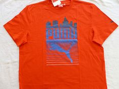 NWT PUMA Cityline witty slogan T-Shirt, available in sizes S,M,L,XL