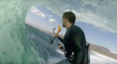 "Reo Stevens: Indonesia Reflections! Achieving kiteSURFING's original ""Holy Grail"" of getting barreled with a kite..."