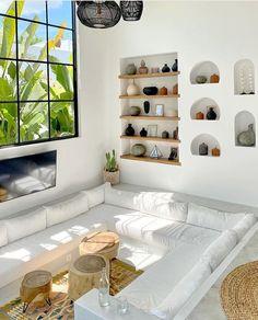 Sunken Living Room, Living Rooms, Interior Design Photos, Dream Home Design, Interior Design Living Room, Home And Living, Interior Architecture, Home Decor, Art Decor