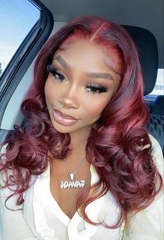 Dyed Natural Hair, Dyed Hair, Colored Natural Hair, Natural Hair Weaves, Baddie Hairstyles, Braided Hairstyles, Colored Weave Hairstyles, Black Girls Hairstyles, Curly Hair Styles