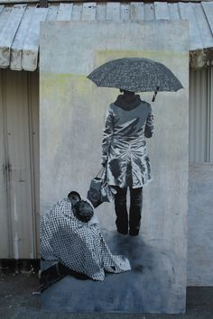 Indigo, She Turned Away, Vancouver - unurth | street art