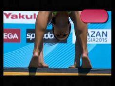 Anna Bader (GER) High diving 20M  FINA World Championships Barcelona 2013