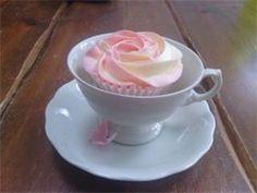 cup cake ... love the idea