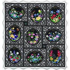 Language of Flowers Block of the Month Quilt Pattern Review
