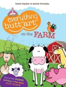 Product Review: Everything Butt Art On the Farm [Paperback](Age 7+) .  Like what you see? ** Follow me on www.MommasBacon.com **