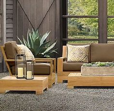 "New Luxurious 3 Piece Teak Sofa Set - 3 Seater Sofa, 1 Sofa Chair & Coffee Table by WholesaleTeak. $1945.99. Lounge Chairs-30 3/4"" W x 36-3/4"" D x 31-1/2"" H, Coffee Table - 48"" W x 33"" D x 17"" H. This beautiful and luxurious Teak Sofa set can be used as indoor or outdoor furniture.. Dimension:3 Seater Sofa- 79"" W x 36-1/2"" D x 31-1/2"" H. Sunbrella fabric Cushions are sold & listed separately for additional Cost,Contact us for more info. This Sofa Set is very comfortable & rela..."