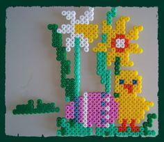Easter hama perler beads by Les loisirs de Pat