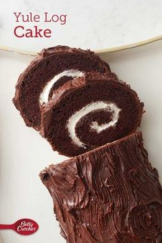 Also known as bûche de Noël, this chocolate roll cake is both a stunning holiday centerpiece and an impressive finish to any winter gathering. Made with Betty Crocker™ cake mix and whipped frosting, this log cake recipe is a baking project that will be a highlight of your holiday cooking this year. Expert tip: For a garnish, brush cranberries with water and roll in coarse white or gold sugar. Add fresh mint leaves.