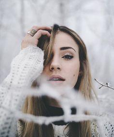In sneeuw