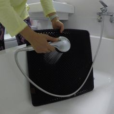 Lightweight Water-Proof non-toxic anti-tracking litter mat Cat Litter Mat