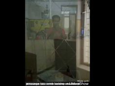 Pemasangan kaca cermin backdrop area Sidoarjo, 08123590154