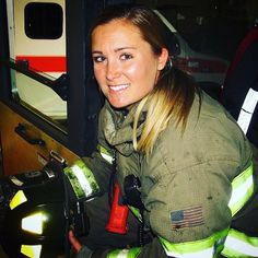 """Curves N Combatboots ™️ shared a post on Instagram: """"#FirefighterFriday than with the incredible @staceynwestfall 😍🇺🇸  Hey! I'm Stacey, 32, and from…"""" • Follow their account to see 2,018 posts. Female Firefighter, Master Chief, Curves, The Incredibles, Posts, Instagram, Messages, Women Firefighters, Full Figured"""