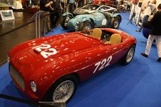 Ferrari 166 Inter Spyder Corsa by Carrozzeria Fontana 1948 by jenskramer, via Flickr