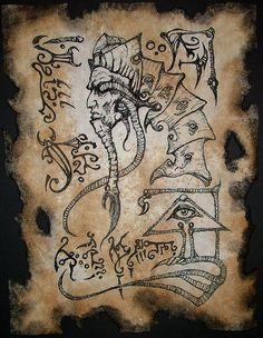 Servant of Nyarlathotep cthulhu larp necronomicon magick by zarono, $10.00