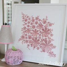 Heart flowers - pink