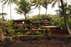 Hotel The Bali House and Bali Cottage at Kehena Beach - Hawaii #HotelDirect info: HotelDirect.com