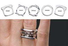 #engagementrings #weddingbands trendhunter.com