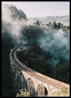 Nine arch bridge Julisteet ryhmässä Julisteet  / Koot / 50x70 cm @ Desenio AB (2562)