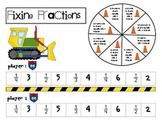 fractions {Mike Mulligan}
