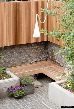 64 super ideas for modern garden seating privacy screens
