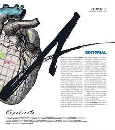 """Caderno especial """"Cartografia Sentimental""""."""