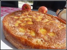 The mellow apple with thermomix Dessert Thermomix, Thermomix Bread, Desserts With Biscuits, No Cook Desserts, High Protein Snacks, Gateau Cake, Creme Dessert, Bread Cake, Cooking Chef