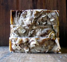 Honeyed Porridge Soap Cold Processed Vegan by BubbleandFlameNH