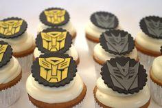 Transformer cupcakes