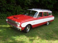 car of my dreams! 1962 ford falcon wagon