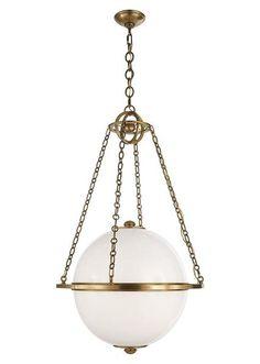 Fixture Visual Comfort E.F. Chapman Globe Pendant