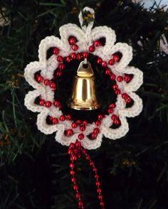 Corchet Christmas ornament  P1090131