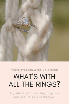 What's With All the Rings?: A guide to all the rings involved in a wedding and what to do with them. Left Ring Finger, Wedding Planning Tips, Strands, Wedding Designs, Photo Credit, Diamond Earrings, Wedding Rings, Posts, Engagement Rings