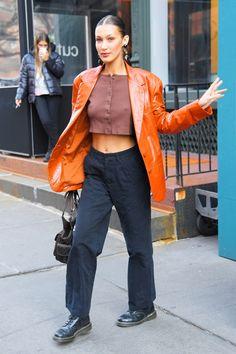 Bella Hadid Outfits, Bella Gigi Hadid, Bella Hadid Style, Moda Minimal, Star Clothing, Nyc Girl, Michael Kors Fashion, Fashion Show, Fashion Outfits
