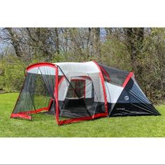 Tahoe Gear Zion 9 Person Three Season Family Tent with Screen Porch. Tahoe 8 -  sc 1 st  Pinterest & Gander Mountain Vacation 8-Person Family Dome Tent w/ Porch-764978 ...
