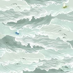 the sea by Lindsay Nohl