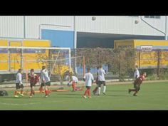 The Red Strikers Score a great Team Work Goal. On Nov. 5th 2016