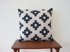 Decorative Pillow Cover Cushion Cover Scandinavian by BeadandReel