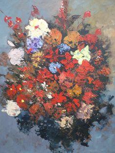 Flores Silvestres Pintor Helmut Lemp ( helepe)
