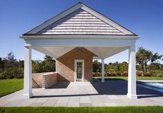 Open porch cabana