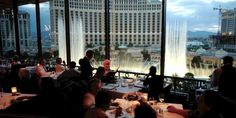 Eiffel Tower Restaurant (Paris Hotel LV) Lunch or dinner with view of Bellagio fountains
