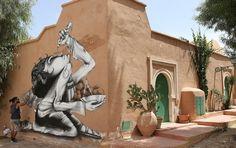150 artistas de rua de 30 países transformam vila da Tunísia em galeria ao ar livre   HypeScience