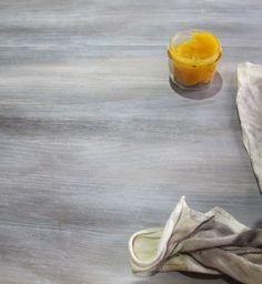 Table bicolore : céruse et peinture - Meubles et objets - Pure Sweet Home