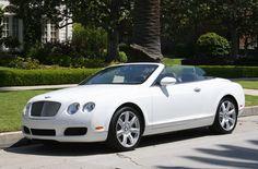 Bentley Continental GTC white