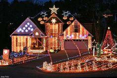 Felix Family Lights Through Christmas 224 Oliver Overlook - Dallas GA